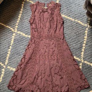 Altar'd State Purple Lace Dress